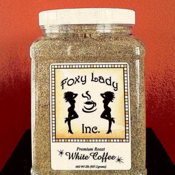 Foxy Lady Premium Roast White Coffee
